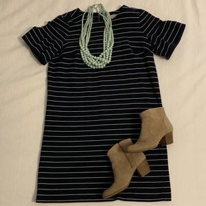 Loft striped dress